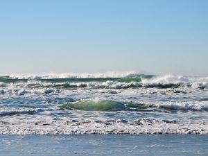 brzeg morza